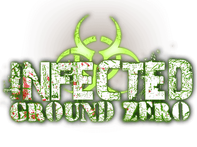 Infected: Ground Zero Logo | SCREAM-A-GEDDON | Central Florida Haunted House
