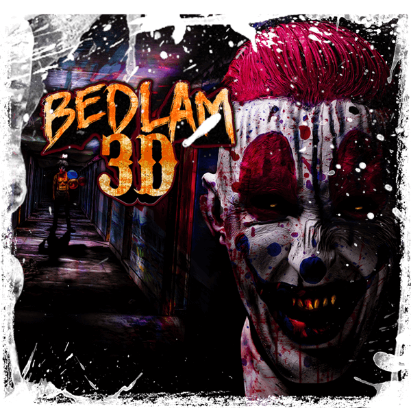 Bedlam 3-D | SCREAM-A-GEDDON | Central Florida Haunted House
